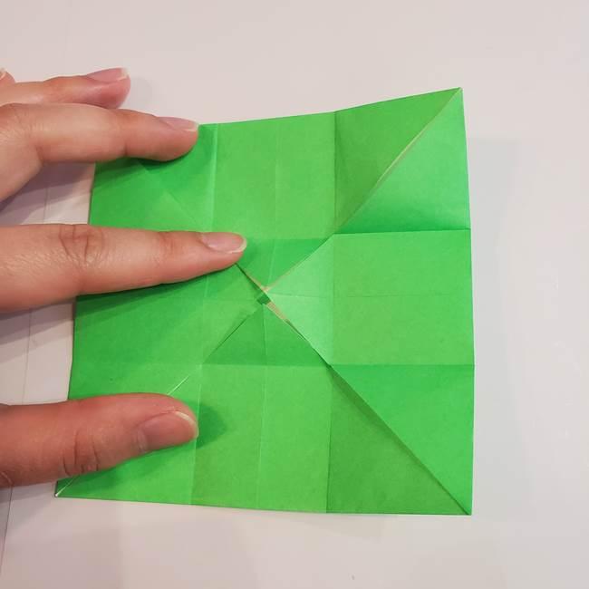 折り紙 クリーバーの折り方作り方(15)
