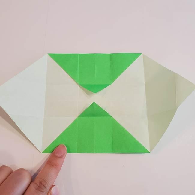 折り紙 クリーバーの折り方作り方(16)