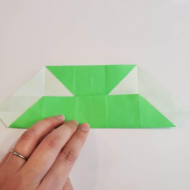 折り紙 クリーバーの折り方作り方(17)