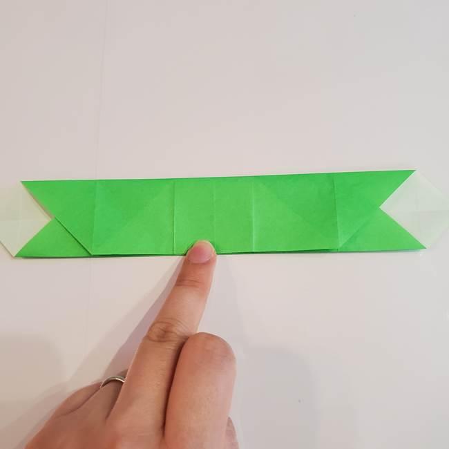 折り紙 クリーバーの折り方作り方(18)