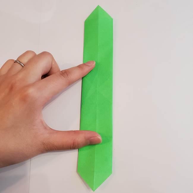 折り紙 クリーバーの折り方作り方(19)