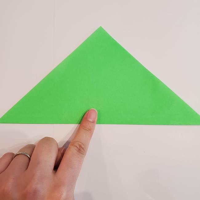 折り紙 クリーバーの折り方作り方(2)