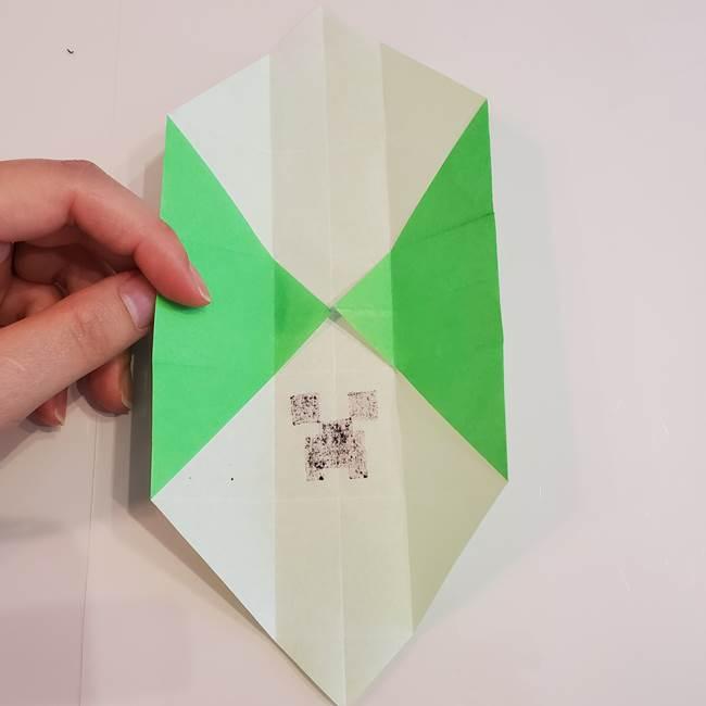 折り紙 クリーバーの折り方作り方(23)