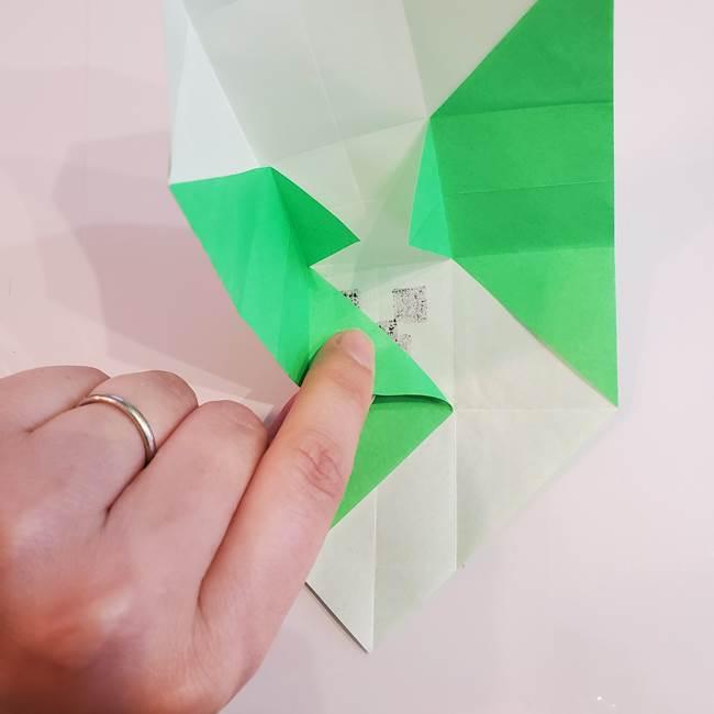 折り紙 クリーバーの折り方作り方(25)