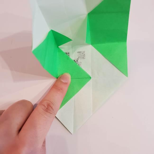 折り紙 クリーバーの折り方作り方(26)