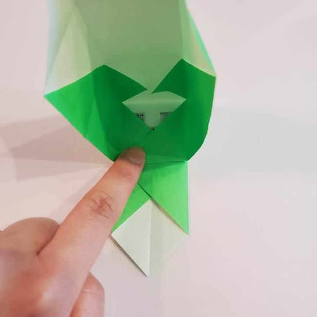 折り紙 クリーバーの折り方作り方(27)