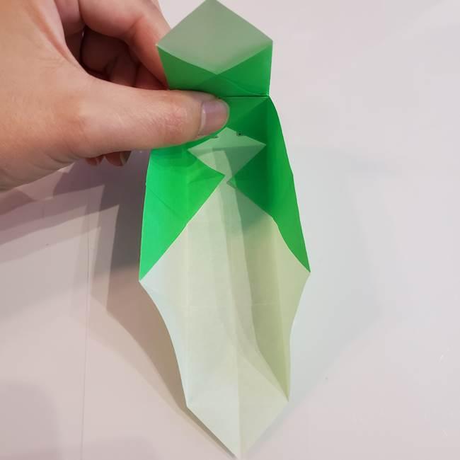 折り紙 クリーバーの折り方作り方(29)