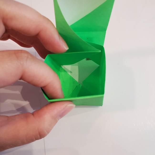 折り紙 クリーバーの折り方作り方(30)