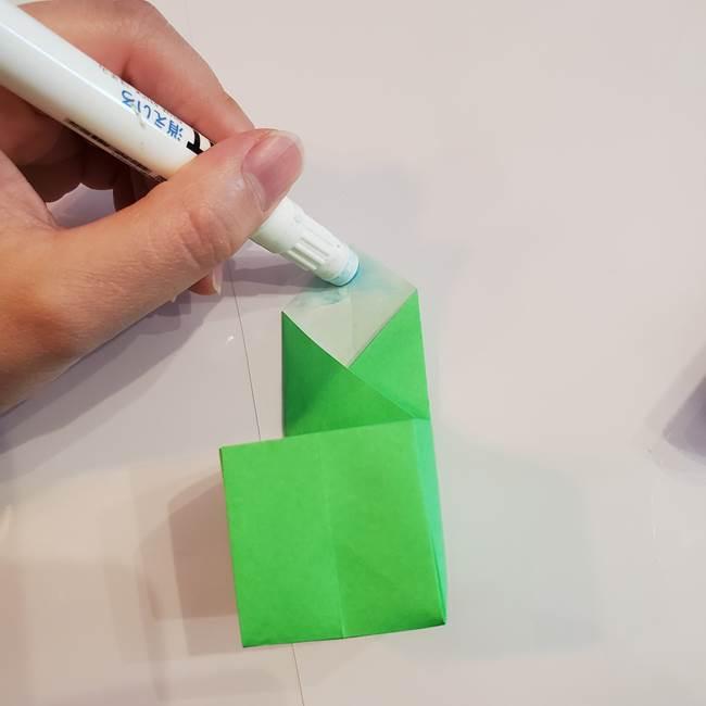 折り紙 クリーバーの折り方作り方(31)