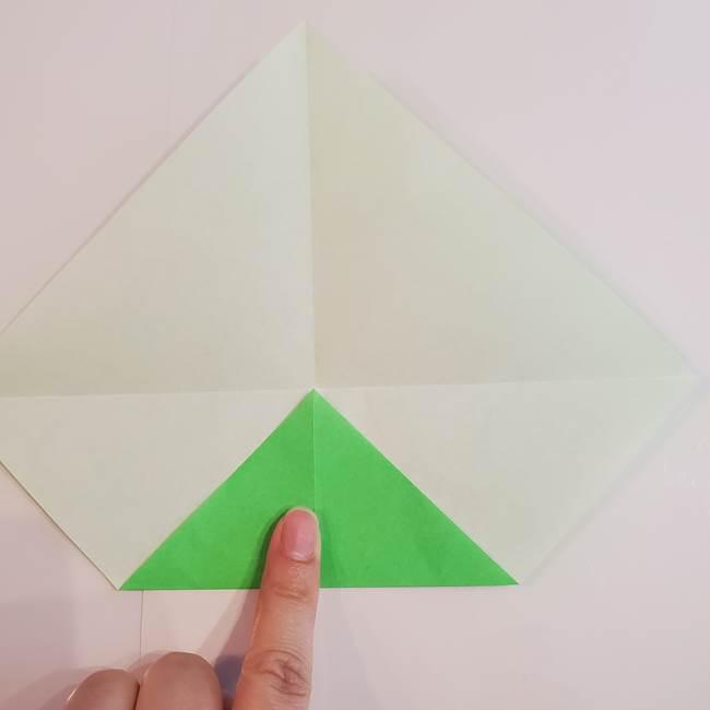 折り紙 クリーバーの折り方作り方(6)