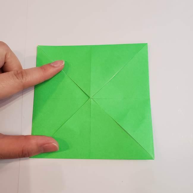 折り紙 クリーバーの折り方作り方(7)