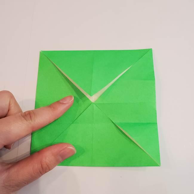 折り紙 クリーバーの折り方作り方(9)