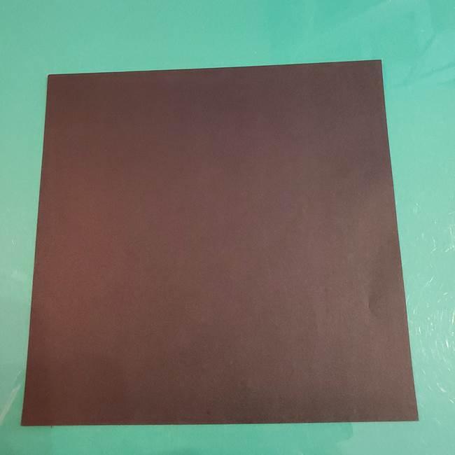 折り紙 マイクラのウィザーの簡単な折り方(1)