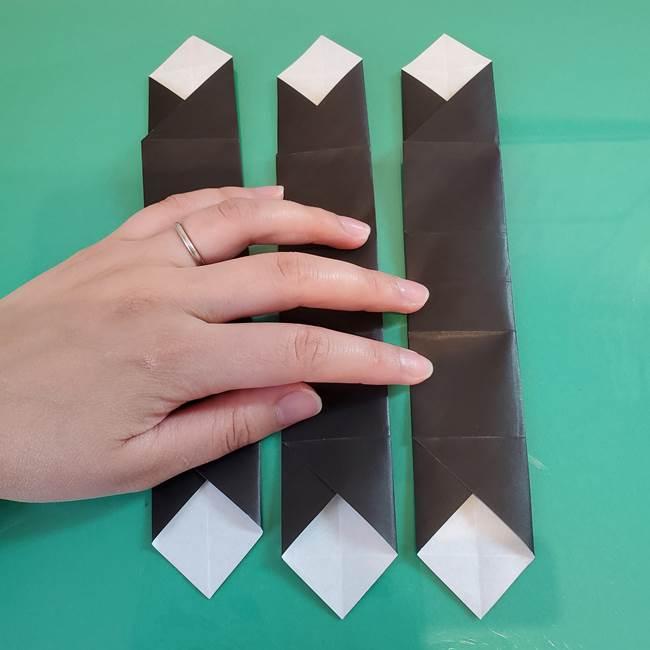 折り紙 マイクラのウィザーの簡単な折り方(3)