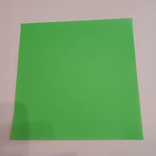 折り紙 マイクラのクリーパーとスケルトン*用意するもの1