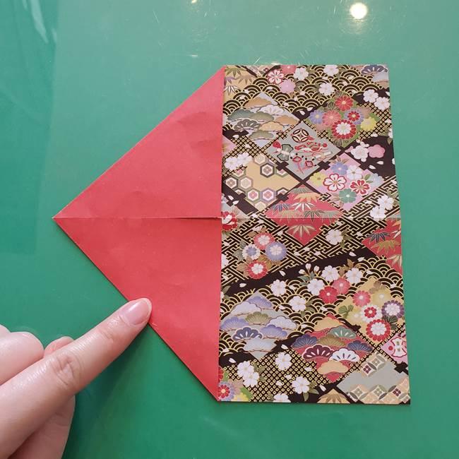 折り紙 縁起物の亀(立体)の折り方作り方(4)