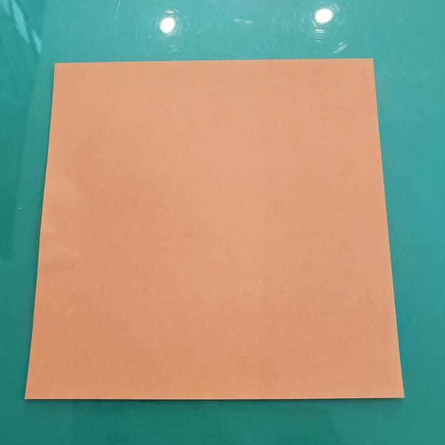 柿の折り紙は幼稚園の子どもでも簡単★一枚で作れる!