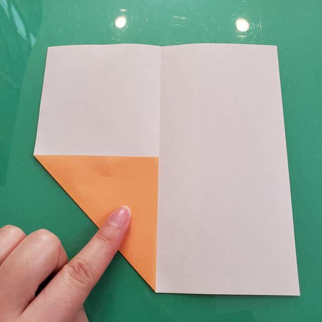 柿の折り紙は幼稚園児でも簡単!子供もOKな作り方折り方(4)