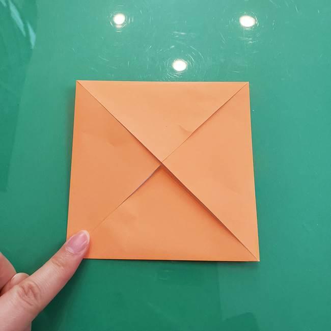 柿の折り紙は幼稚園児でも簡単!子供もOKな作り方折り方(5)