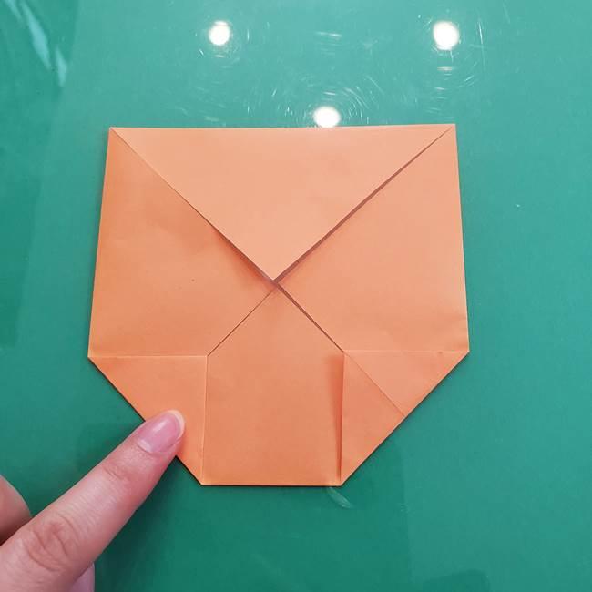 柿の折り紙は幼稚園児でも簡単!子供もOKな作り方折り方(6)