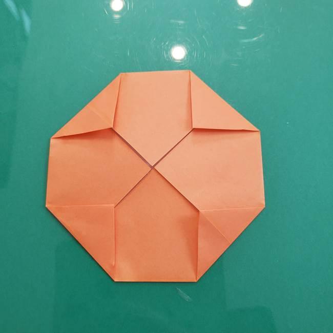 柿の折り紙は幼稚園児でも簡単!子供もOKな作り方折り方(7)