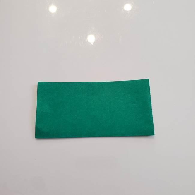 柿の葉っぱの折り紙 折り方作り方(平面)(2)
