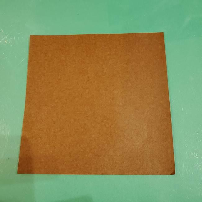 栗の折り紙は子どもでも簡単♪用意するもの1