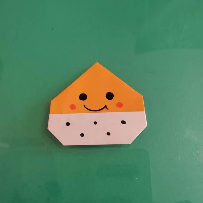 栗の折り紙は子どもでも簡単!かわいい顔で楽しい♪年少3歳児の保育にも☆