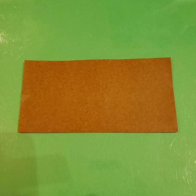 栗の折り紙 子どもでも簡単な折り方作り方(2)