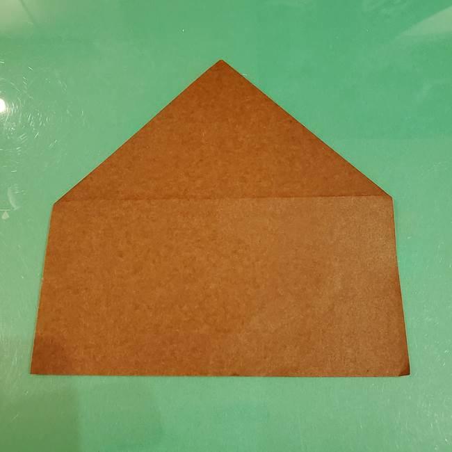 栗の折り紙 子どもでも簡単な折り方作り方(5)