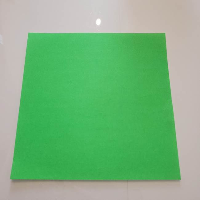 菊の折り紙は1枚で作れる!
