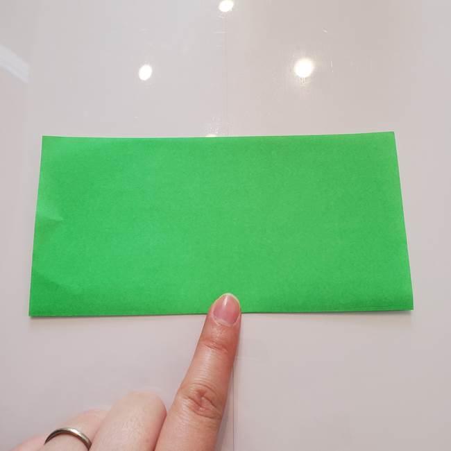 菊の折り紙 1枚で簡単にできる作り方折り方(2)