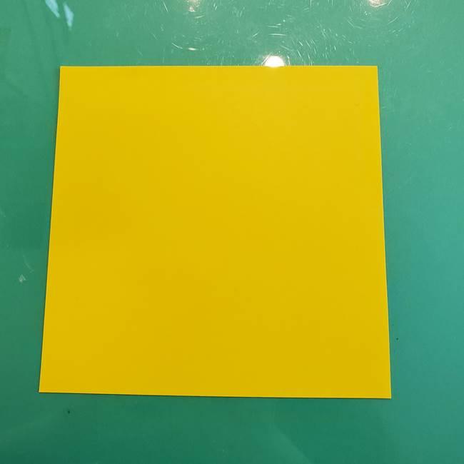 ①満月の折り紙の折り方(1)