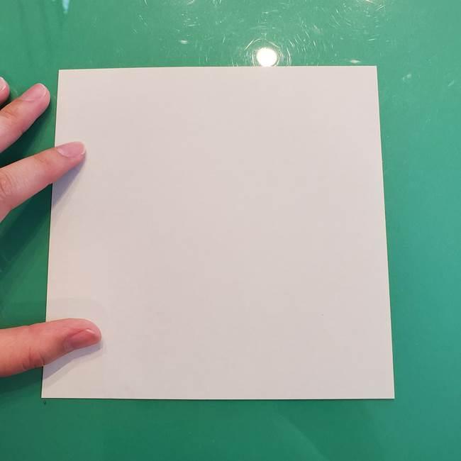 ①満月の折り紙の折り方(2)