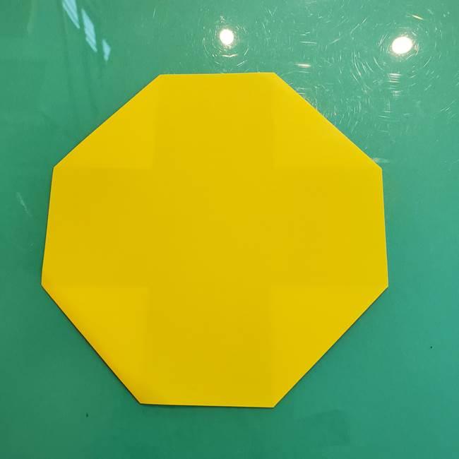 ①満月の折り紙の折り方(4)