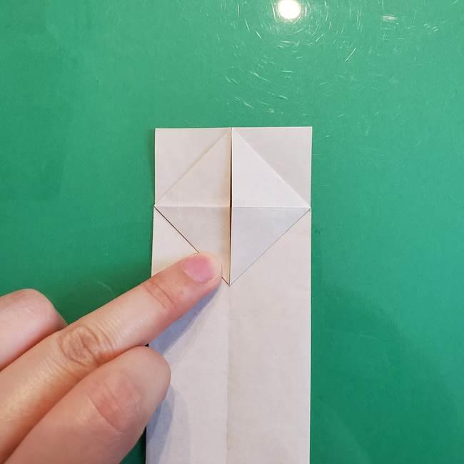 ②雲の折り紙の折り方(21)