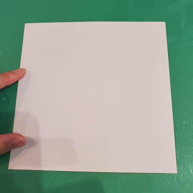 うさぎの折り紙 簡単で幼稚園年長からOK!折り方作り方①顔(2)