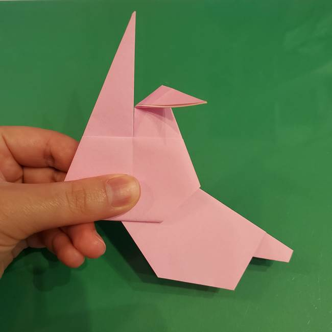 うさぎの折り紙 簡単で幼稚園年長からOK!折り方作り方③完成(2)