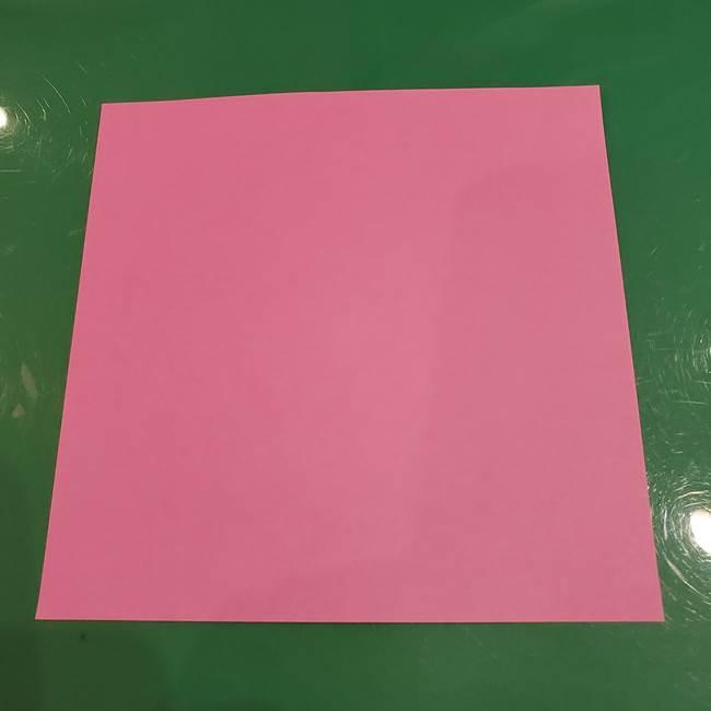 おばけの折り紙は簡単!3歳児と作ったよ♪1