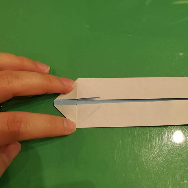 さんまの折り紙の簡単な折り方作り方(10)