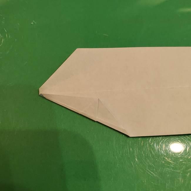 さんまの折り紙の簡単な折り方作り方(12)
