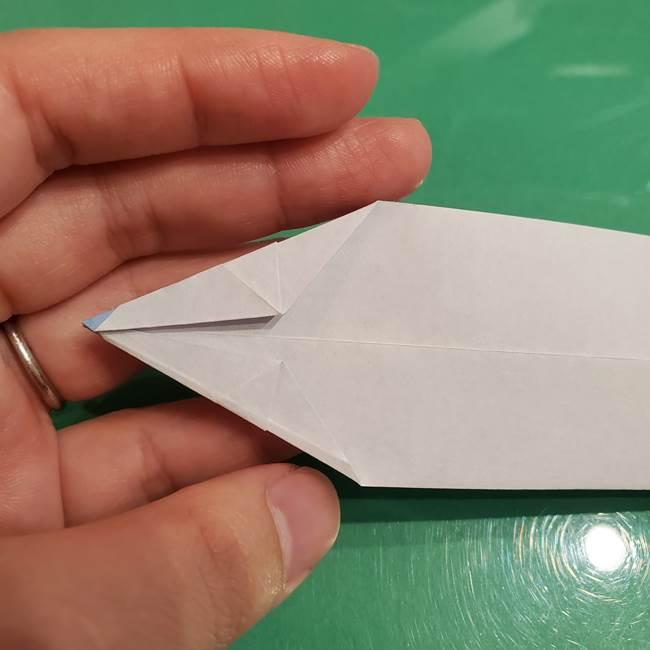 さんまの折り紙の簡単な折り方作り方(13)