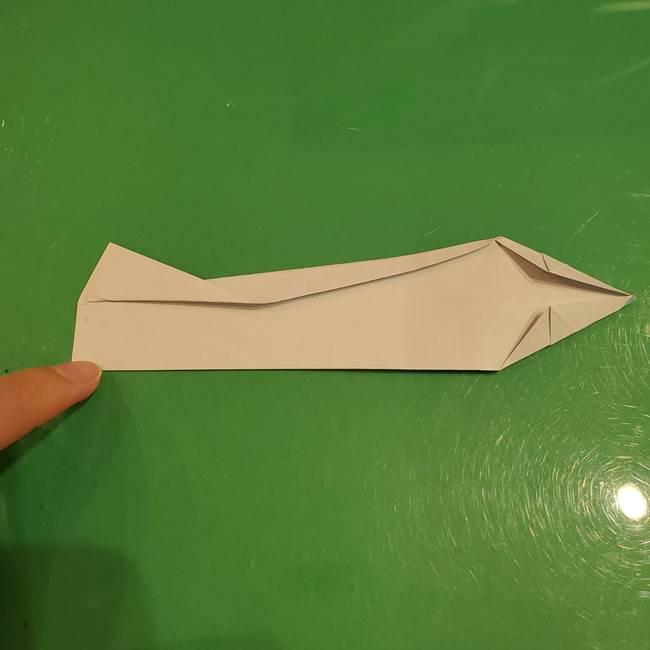さんまの折り紙の簡単な折り方作り方(16)