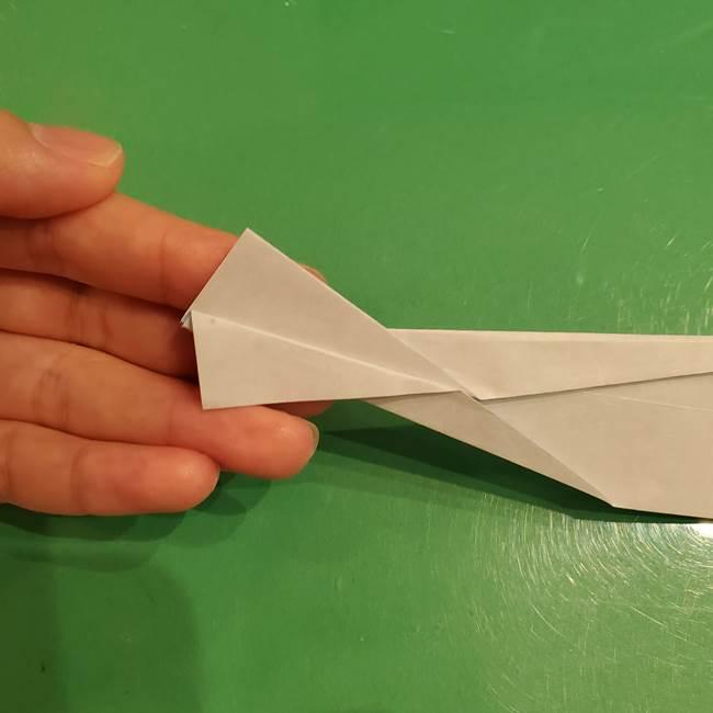 さんまの折り紙の簡単な折り方作り方(18)