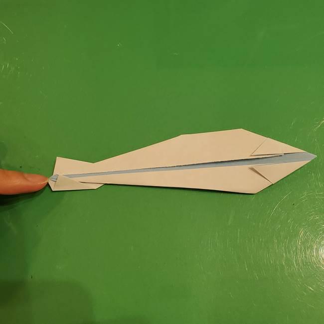 さんまの折り紙の簡単な折り方作り方(19)