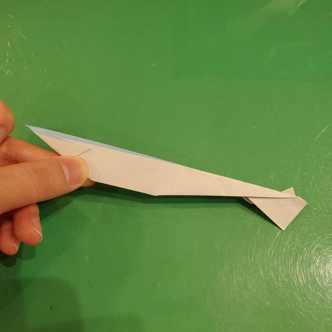 さんまの折り紙の簡単な折り方作り方(21)