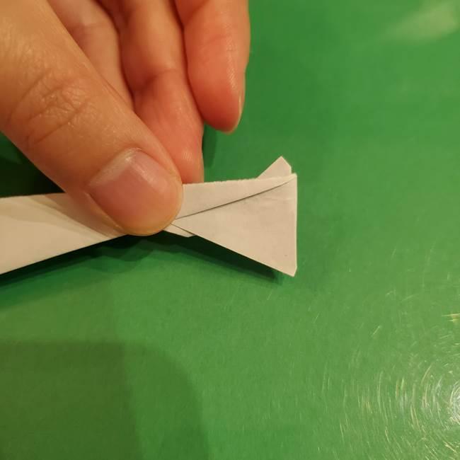 さんまの折り紙の簡単な折り方作り方(22)