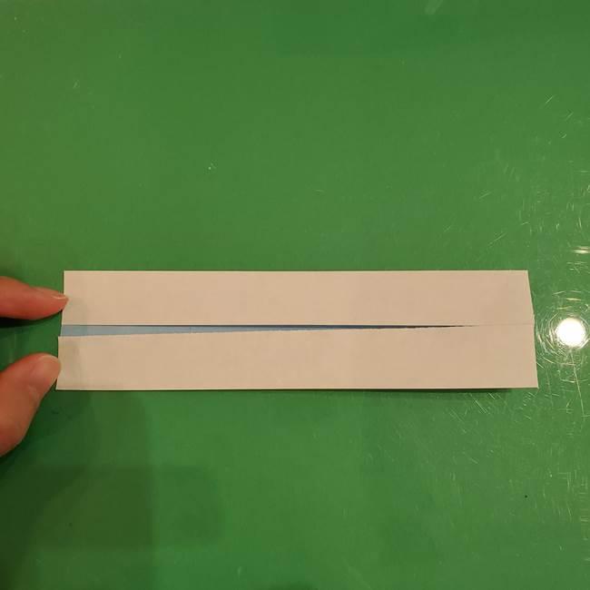 さんまの折り紙の簡単な折り方作り方(4)