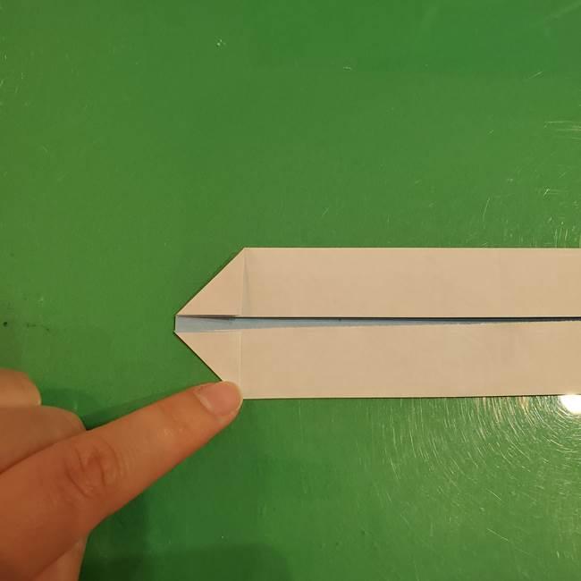 さんまの折り紙の簡単な折り方作り方(5)