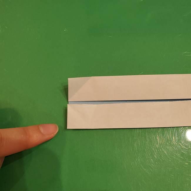さんまの折り紙の簡単な折り方作り方(6)
